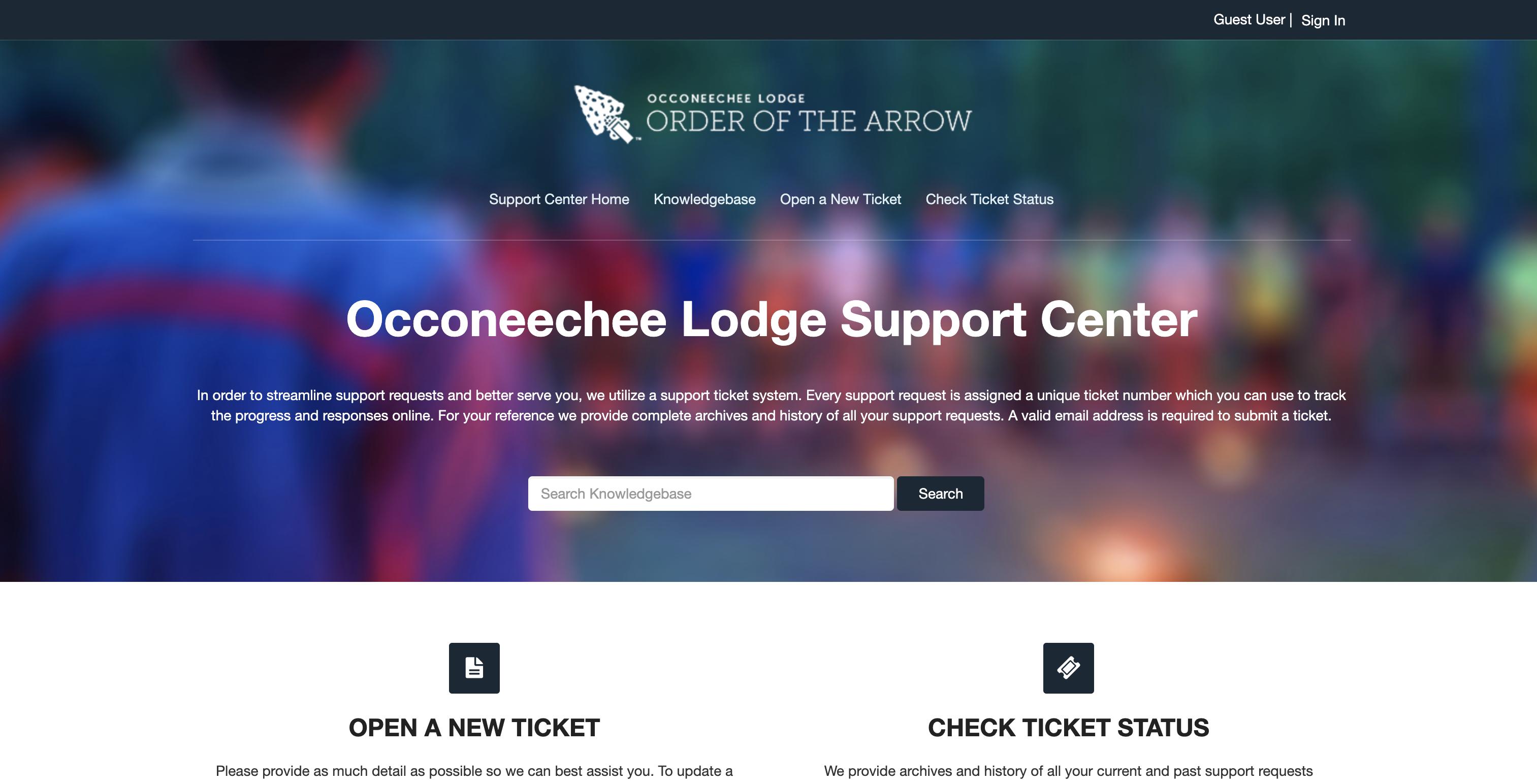 Occoneechee Support System